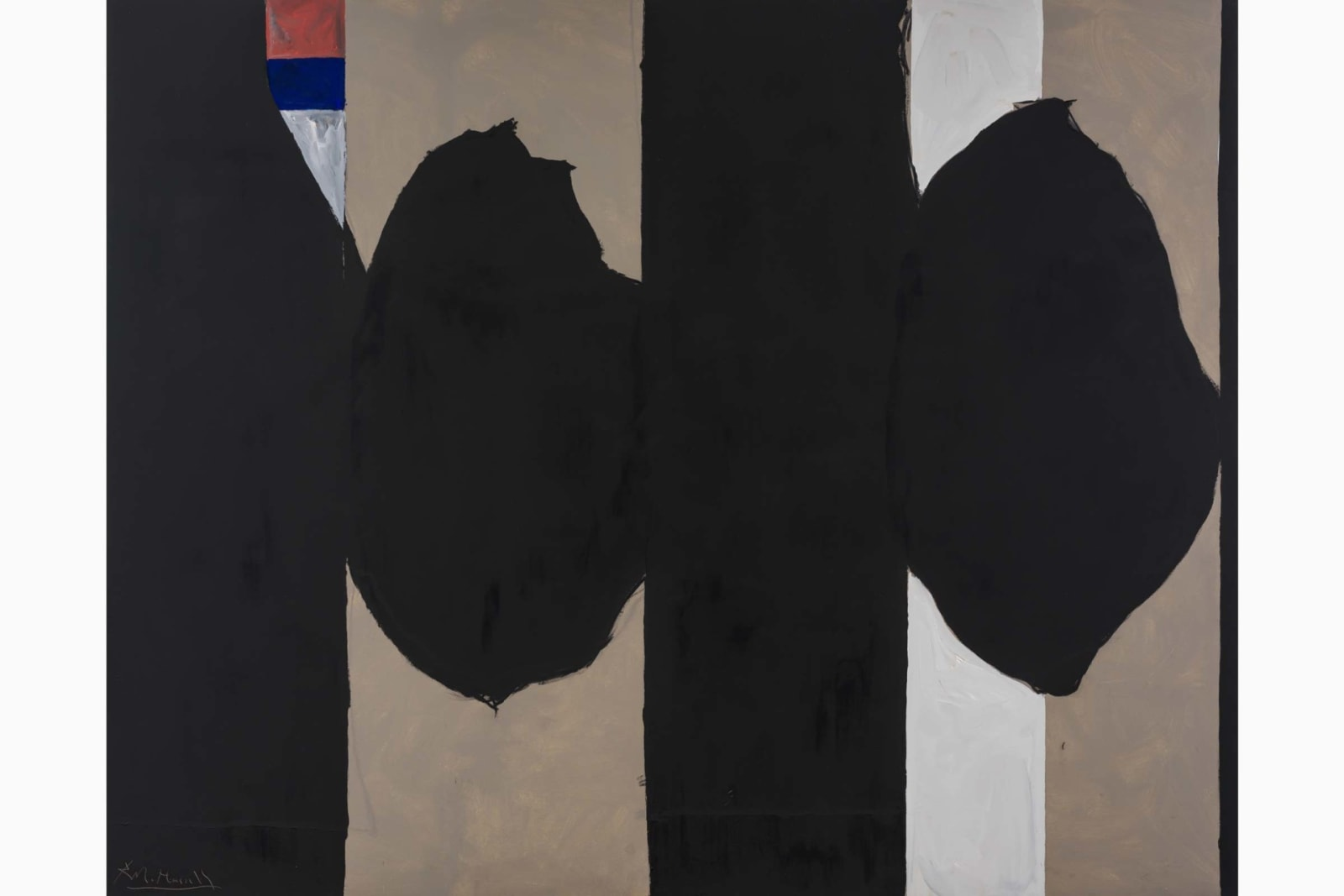 Elegy to the Spanish Republic No.130, 1974-1975, Acrylic on Canvas, 243.8 x 304.8 cm