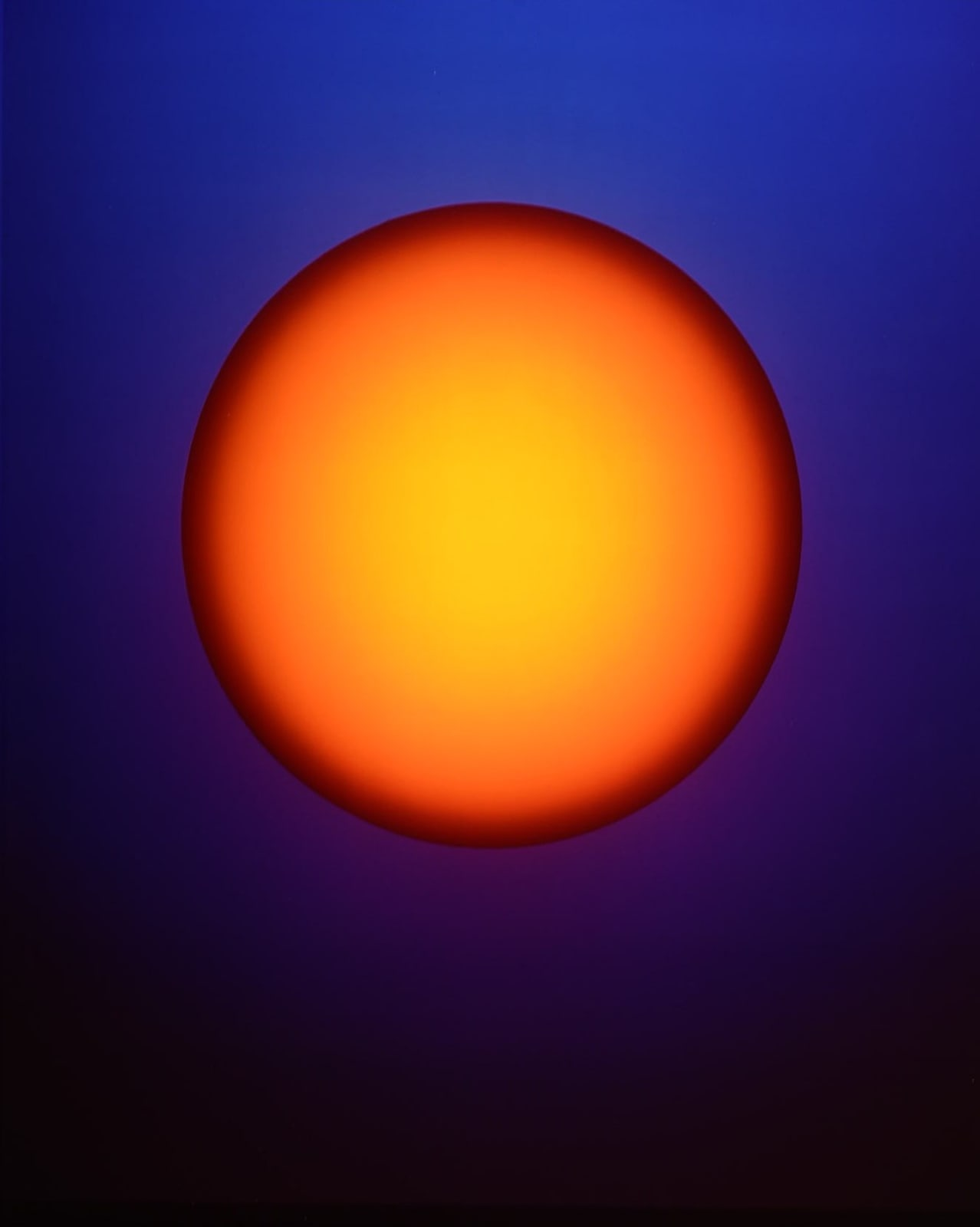 Rob and Nick Carter (b. 1968; b. 1969) Orange Orb, 2018 Cibachrome mounted on aluminium, framed 61 x 51 cm;...
