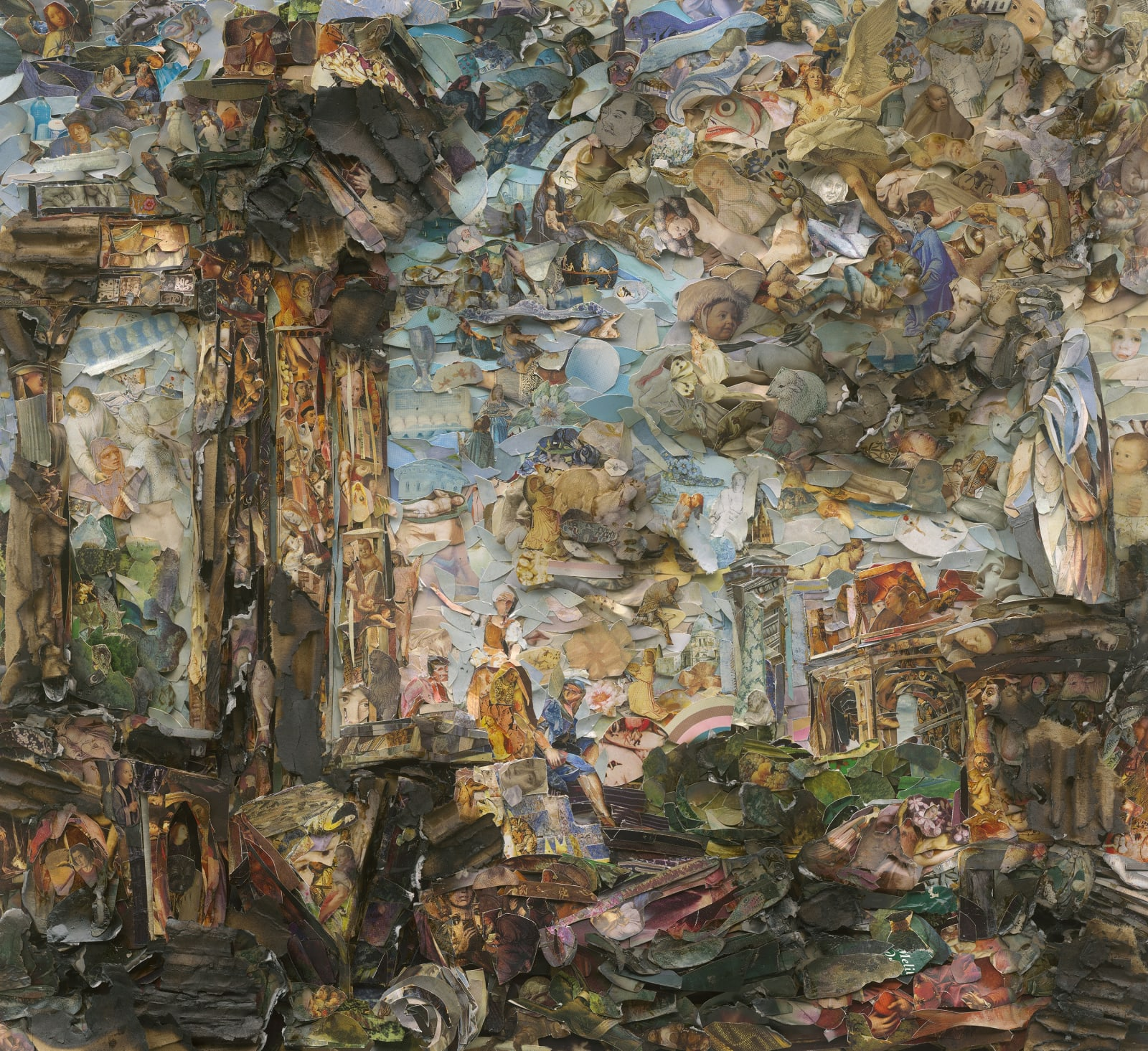 Vik Muniz (b. 1961) Roman Capriccio Imaginary Landscape with Antique Landmark, after Giovanni Paolo Panini (Afterglow), 2017 Digital C-print 101.6...