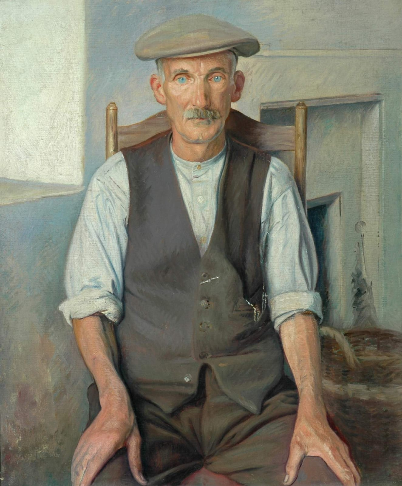 William Rothenstein (1872-1945) The Old Gardener c.1930 Oil on canvas 61 x 50.8 cm Bradford Museums and Galleries To see and discover more about this artist click here