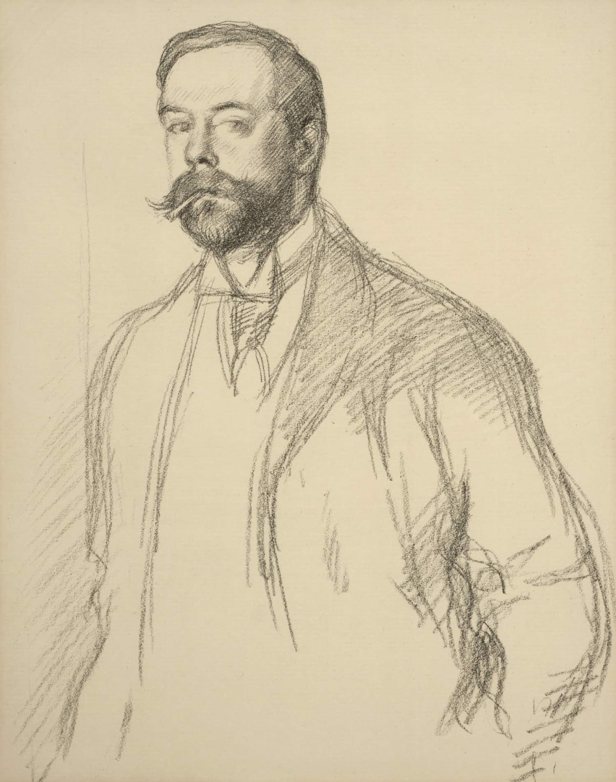 William Rothenstein (1872-1945) John Singer Sargent 1897 Lithograph published as part of English Portraits, 1898 37.7 x 25 cm Bradford Museums and Galleries To see and discover more about this artist click here