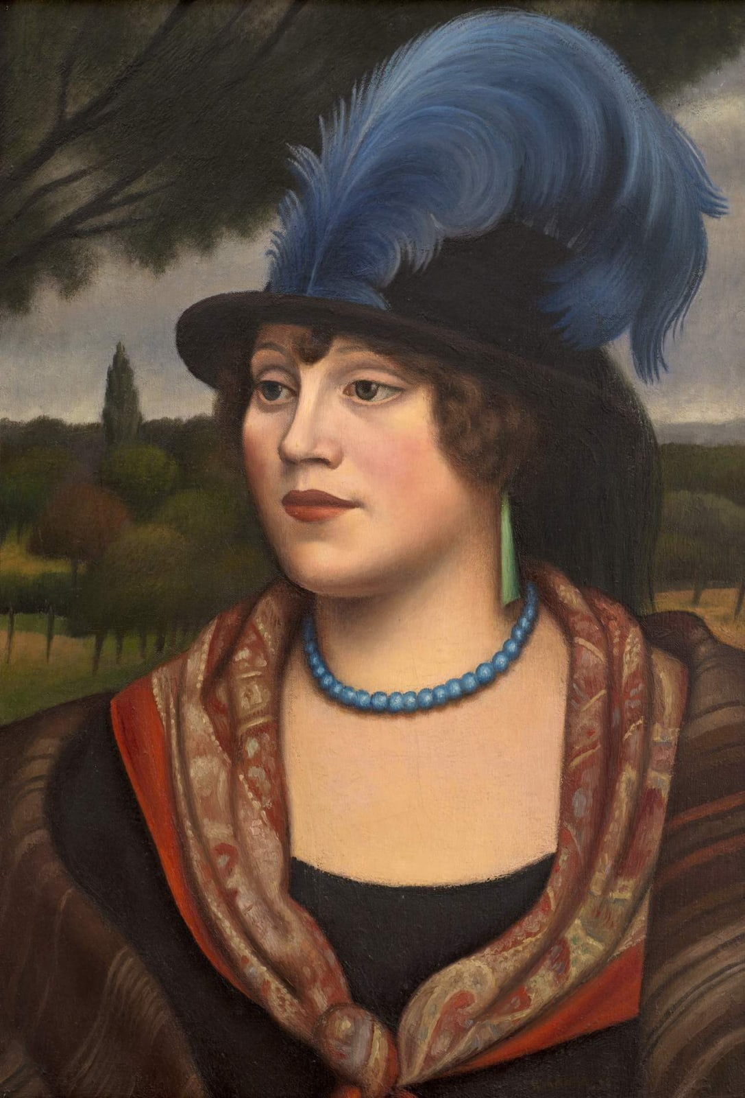 Mark Gertler (1891-1939) The Coster Woman 1923 Oil on canvas 58.5 x 41 cm Luke Gertler Bequest, on loan to Ben Uri Collection with Art Fund support To see and discover more about this artist click here
