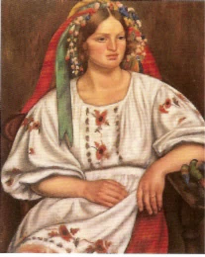 Mark Gertler (1891-1939) Russian Peasant Girl 1926 Oil on canvas 73.5 x 61 cm Bradford Museums and Galleries To see and discover more about this artist click here