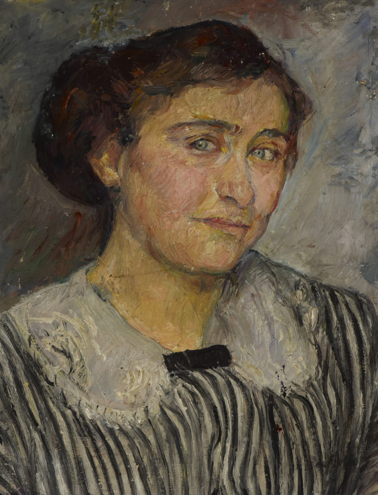 Adèle Reifenberg (1893-1986) Portrait of the Artist's Sister-in-Law, Elise Reifenberg (Gabriele Tergit) n.d. Oil on canvas 46 x 36 cm Ben Uri Collection © Adèle Reifenberg estate To see and discover more about this artist click here