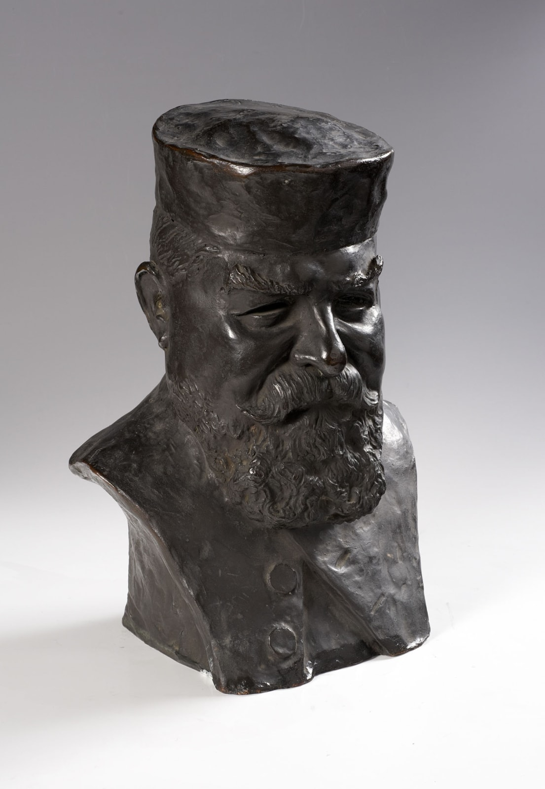 Benno Elkan (1877-1960) Chief Rabbi Dr J.H. Hertz 1933 Bronze 42 x 32 x 22 cm Ben Uri Collection © Benno Elkan estate To see and discover more about this artist click here
