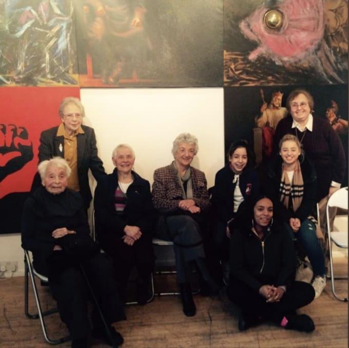 Ben Uri и Международный женский день 2017 Женщины из Университета третьего возраста, а также школьницы из средней школы Акланда Бургли в разговоре, в рамках празднования Международного женского дня в галерее Ben Uri . Послушать .