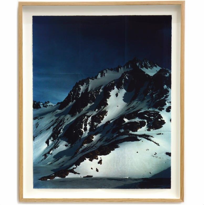 AR Cerro A. Madsen, 2015 Archival inkjet print on folded rice paper