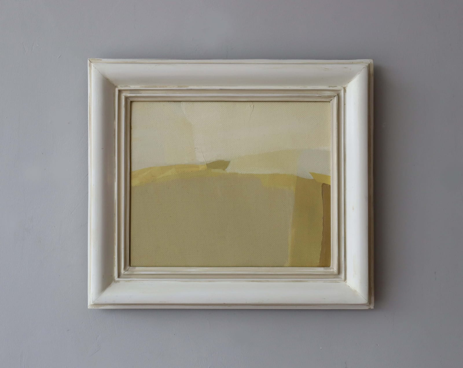 Hampshire oil on canvas 38cm x 42cm
