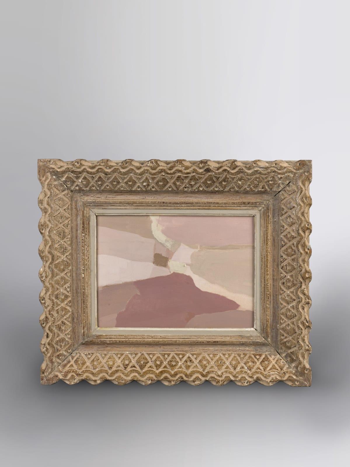 La vie en Rose oil on canvas 45cm x 54cm