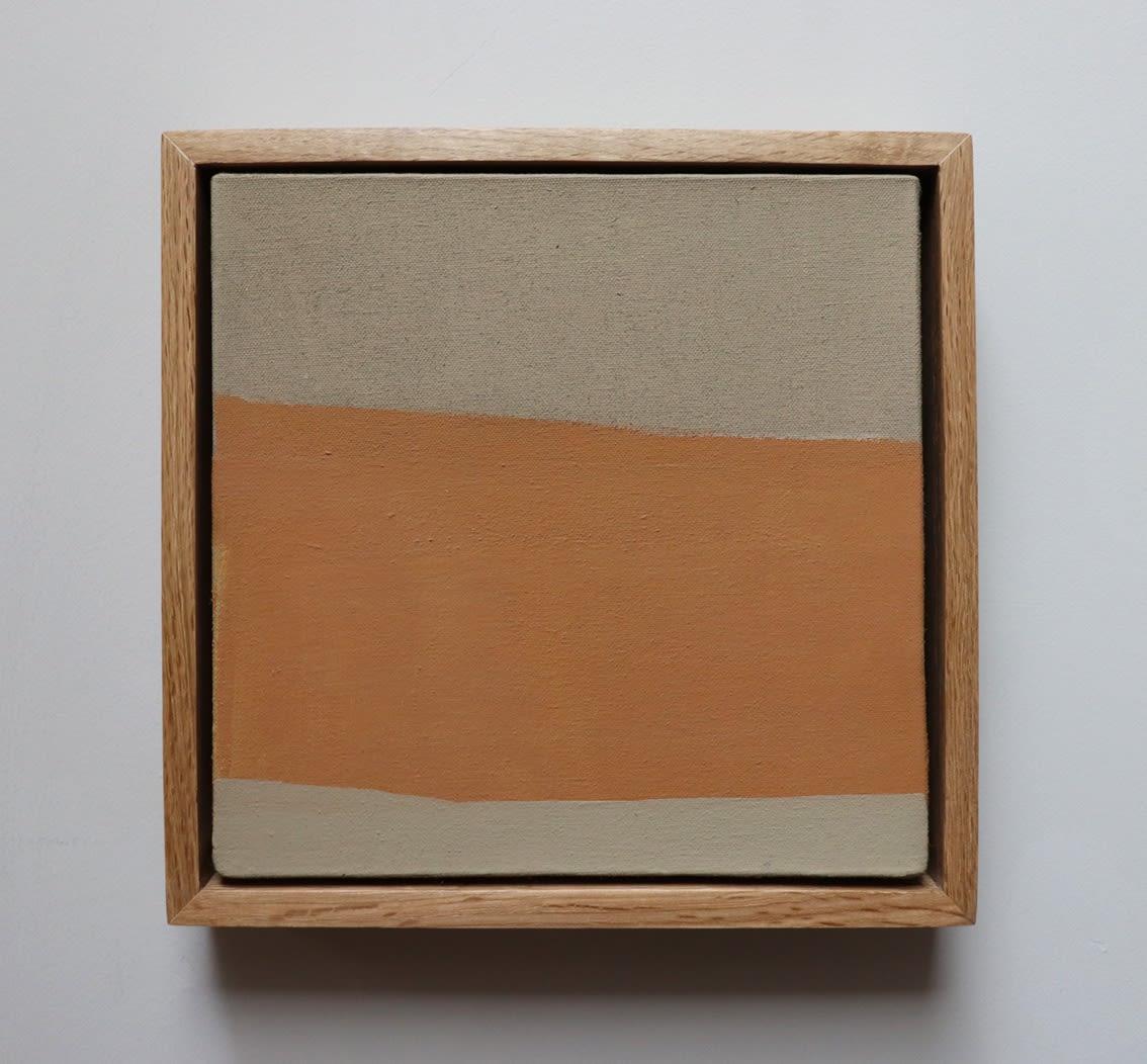 Moab oil on canvas 23cm x 23cm