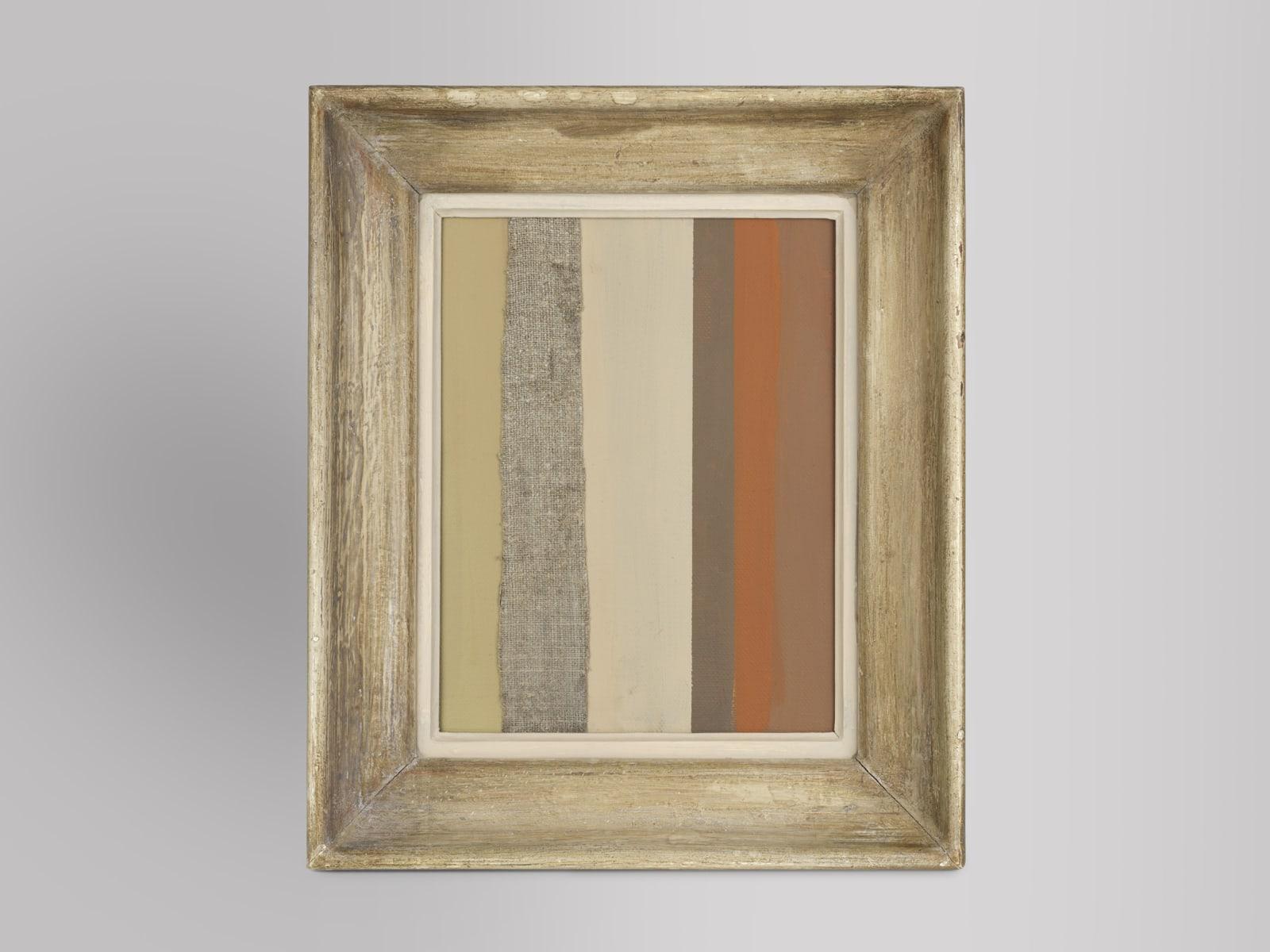 Stripey Guy II oil on canvas 50cm x 42cm