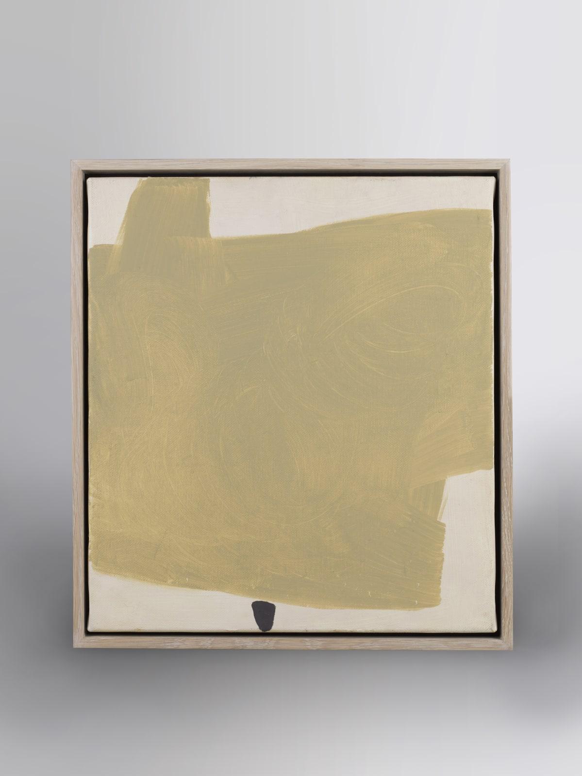 Study for Zen Garden oil on canvas 58cm x 52cm