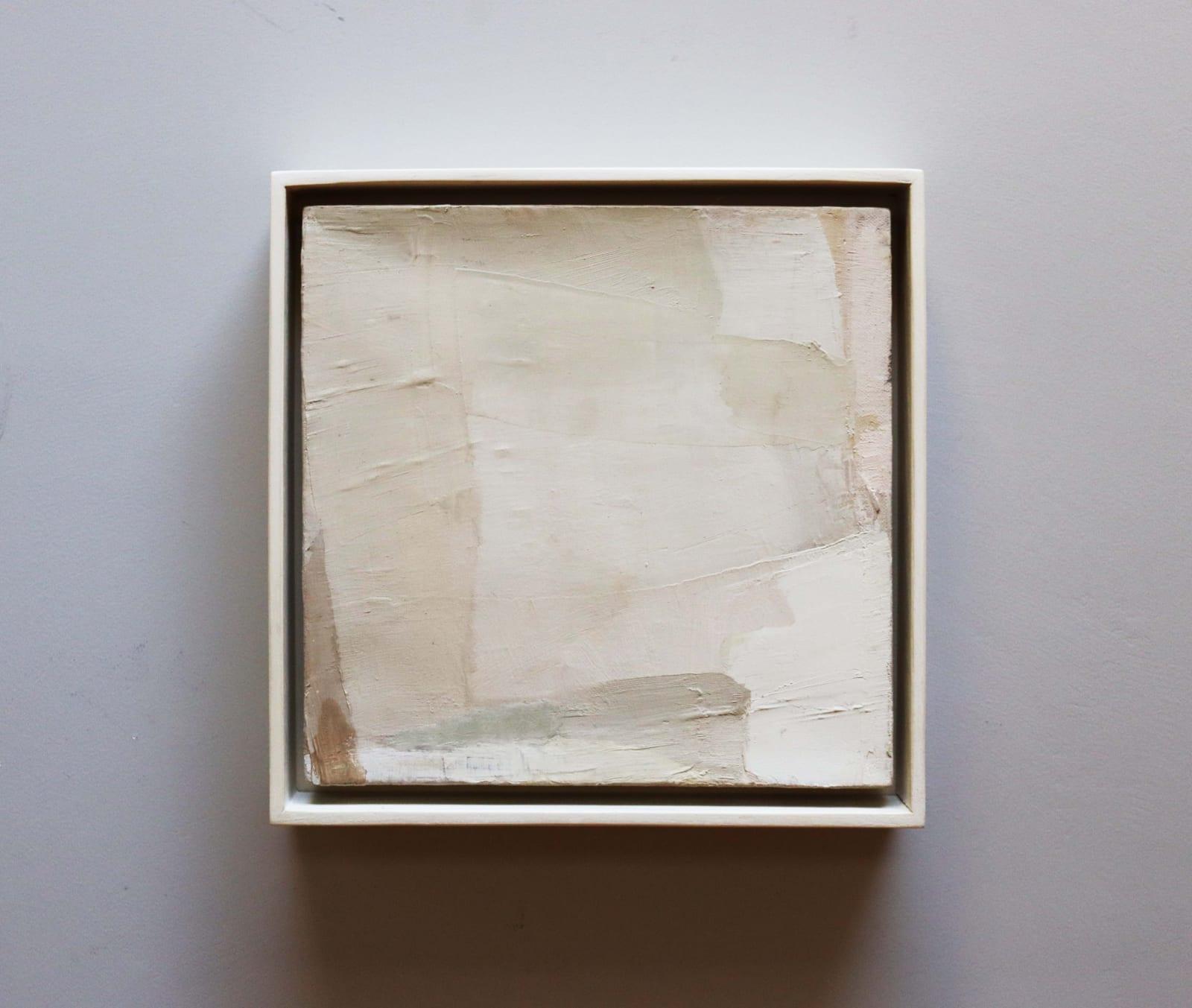 White Rocks II oil on canvas 28cm x 28cm