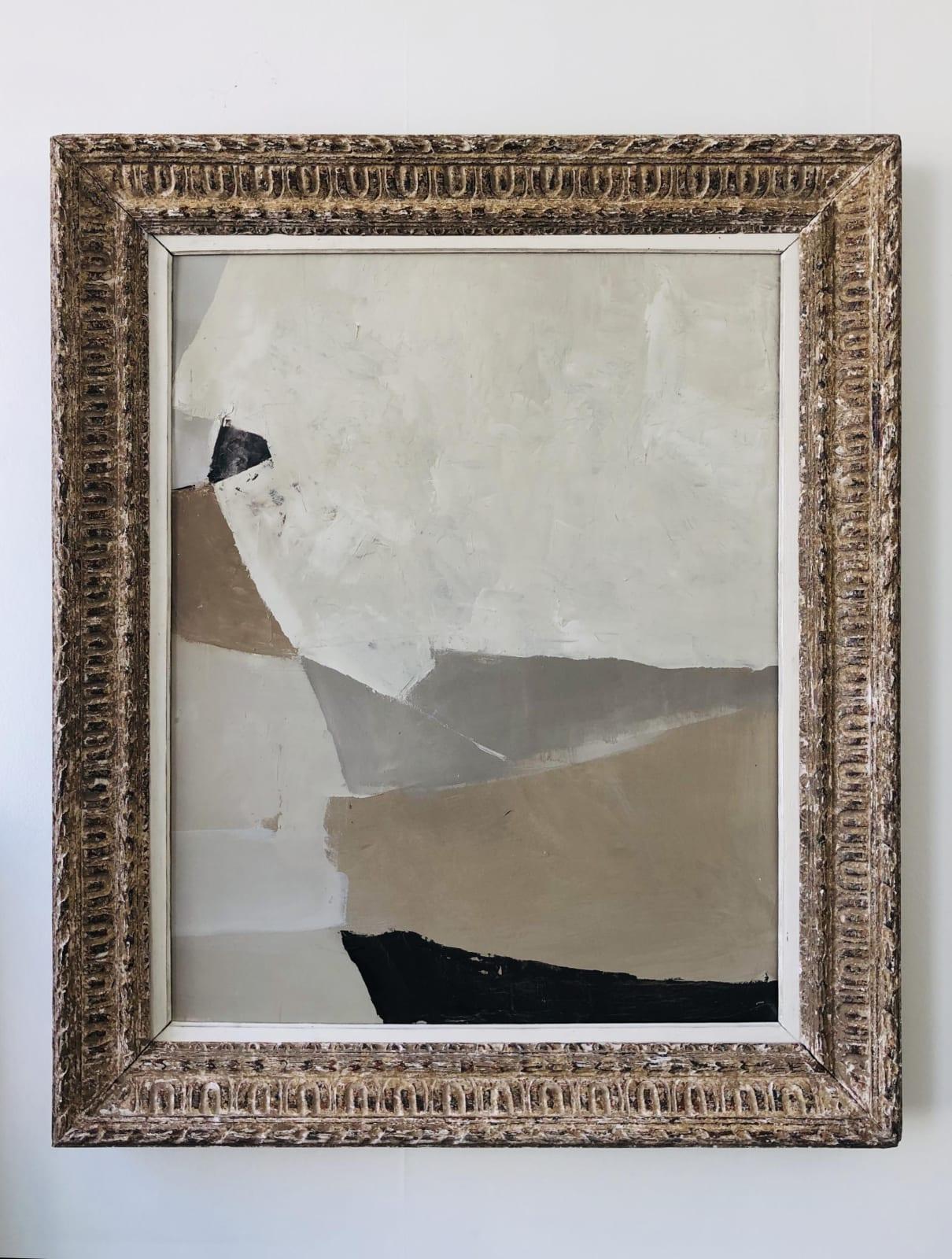 White Sands I oil on canvas 114cm x 96cm