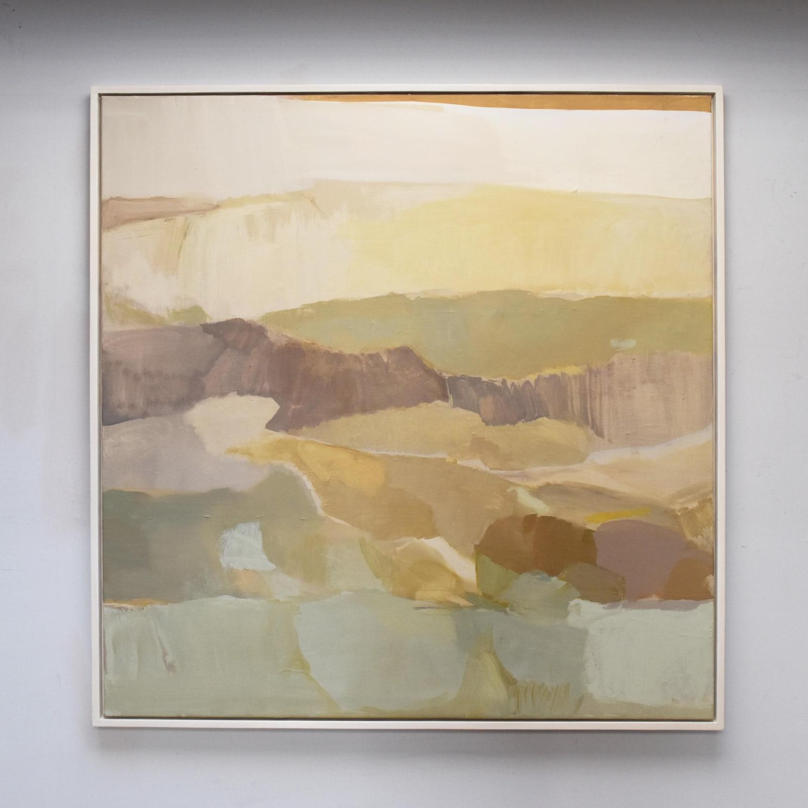 Wild West oil on canvas 152cm x 148cm