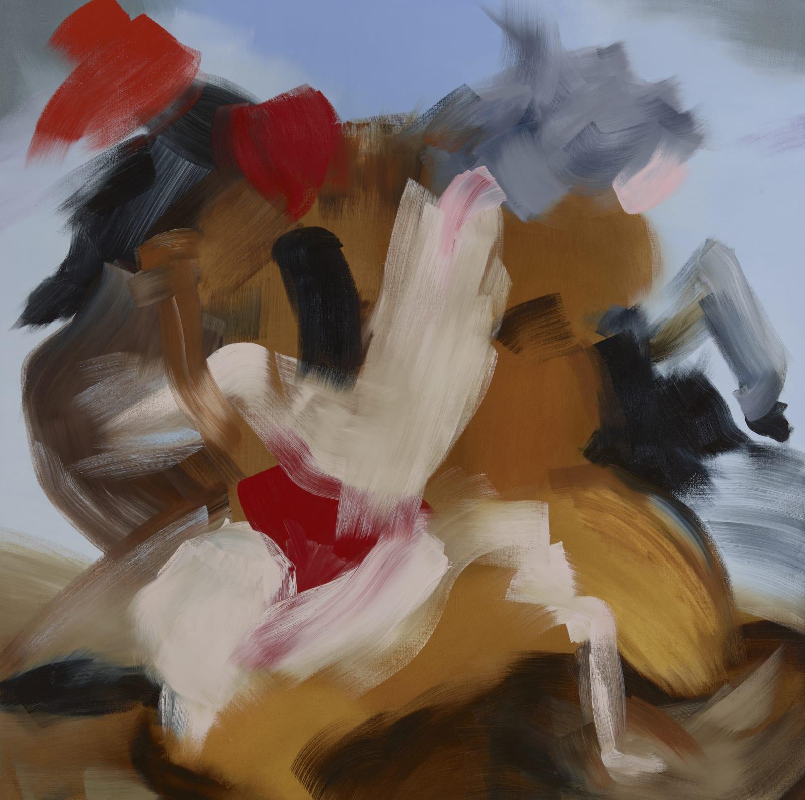 Dioscuri Consensual oil on canvas 152cm x 152cm (60