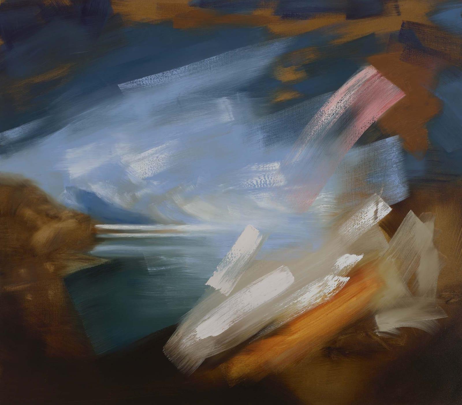 Europa (Consensual) oil on canvas 152cm x 135cm (60