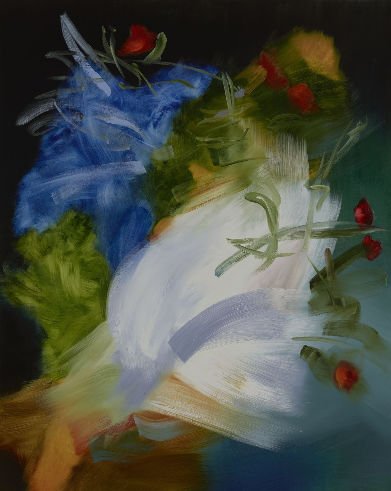 Flower of the Mountain oil on canvas 152cm x 122cm (60