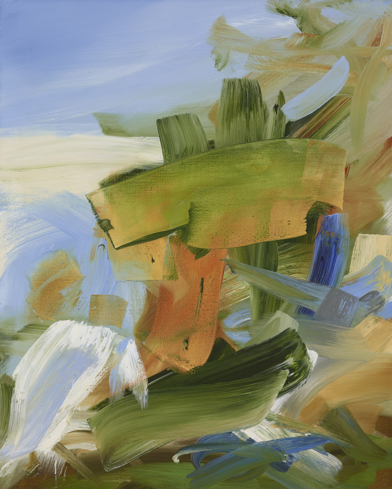 Medium Study for Generosity oil on canvas 76cm x 61cm (30