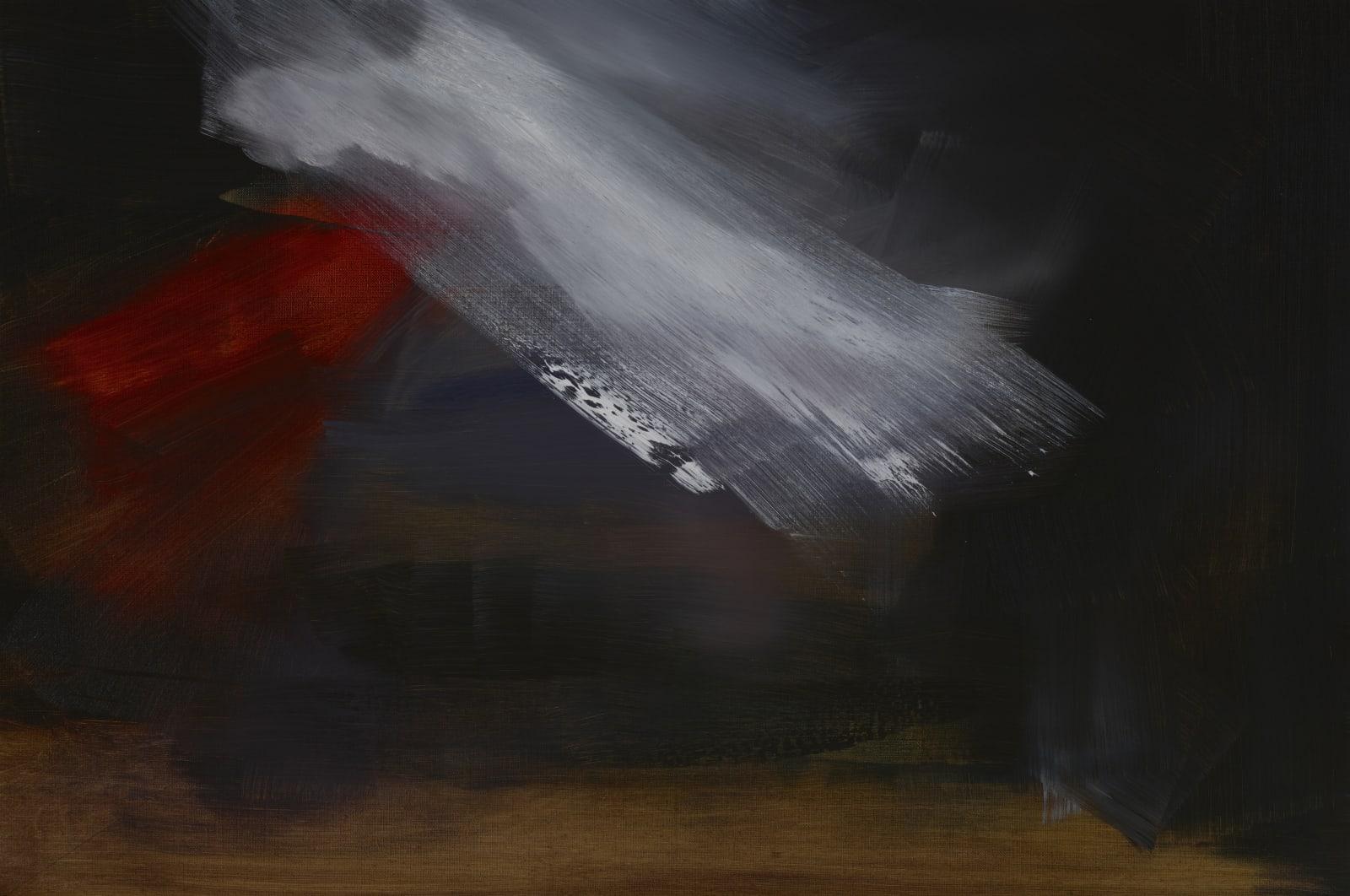 Medium Study for Yes oil on canvas 51cm x 76cm (20