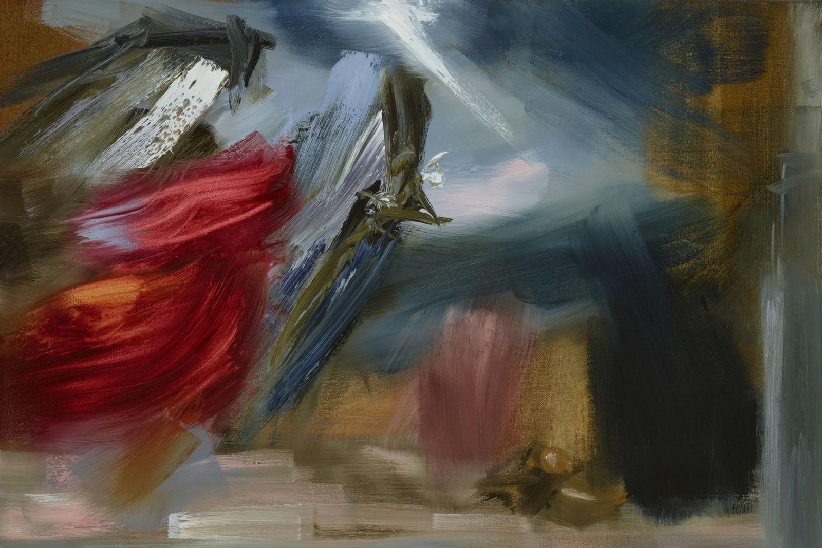 Medium Study I for Yes oil on canvas 51cm x 76cm (20