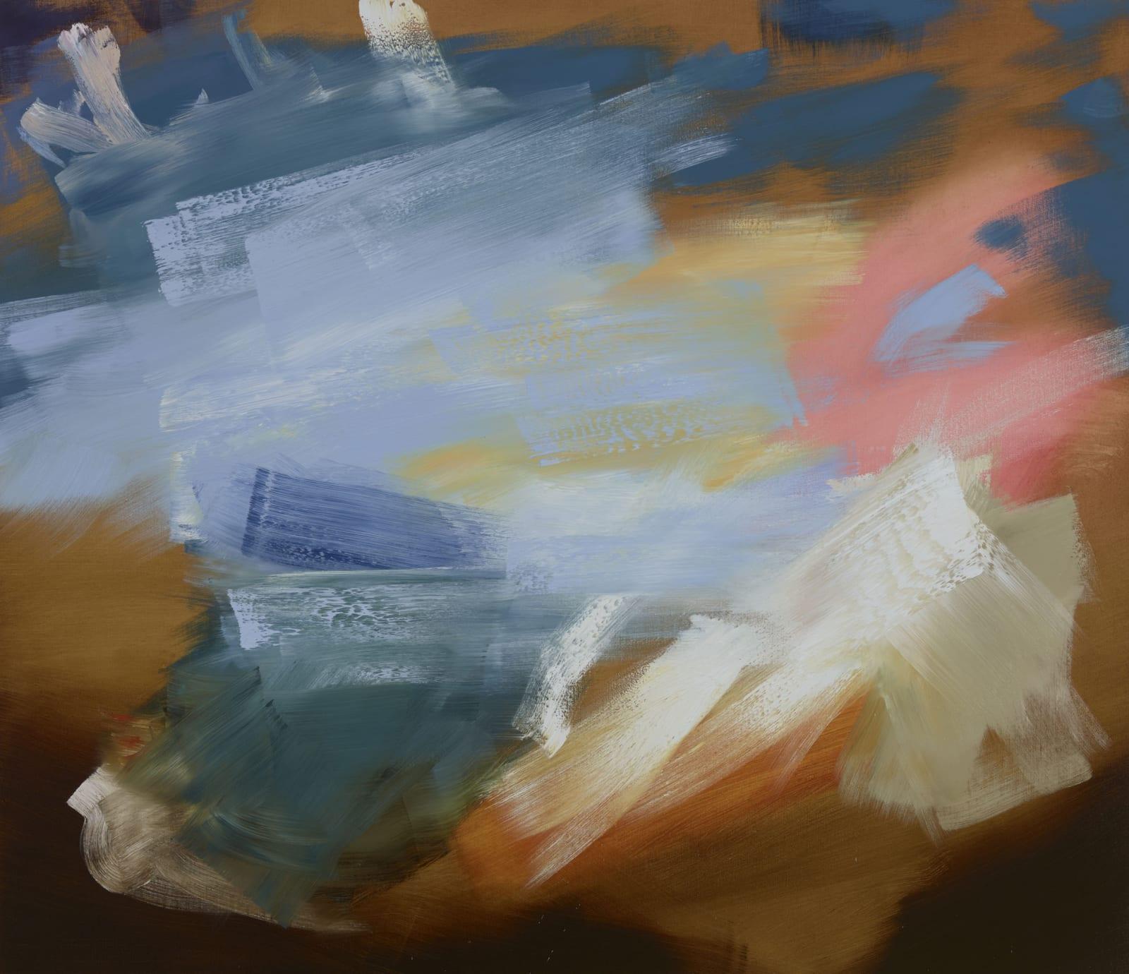 Waterloo Sunset oil on canvas 132cm x 152cm (52