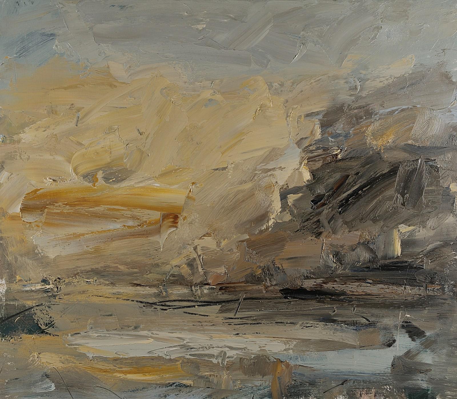 Turner's Yellow, East Coast oil on canvas 55cm x 60cm