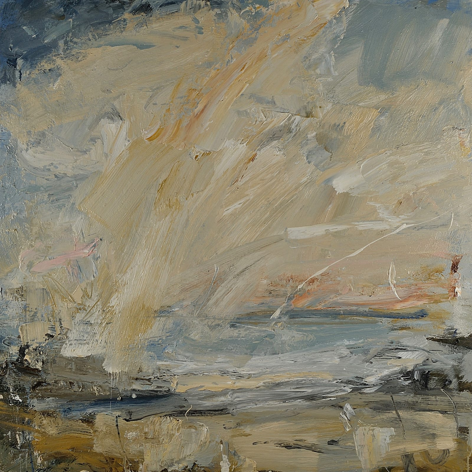 Colonsay, Sudden Brightness oil on canvas 80cm x 80cm