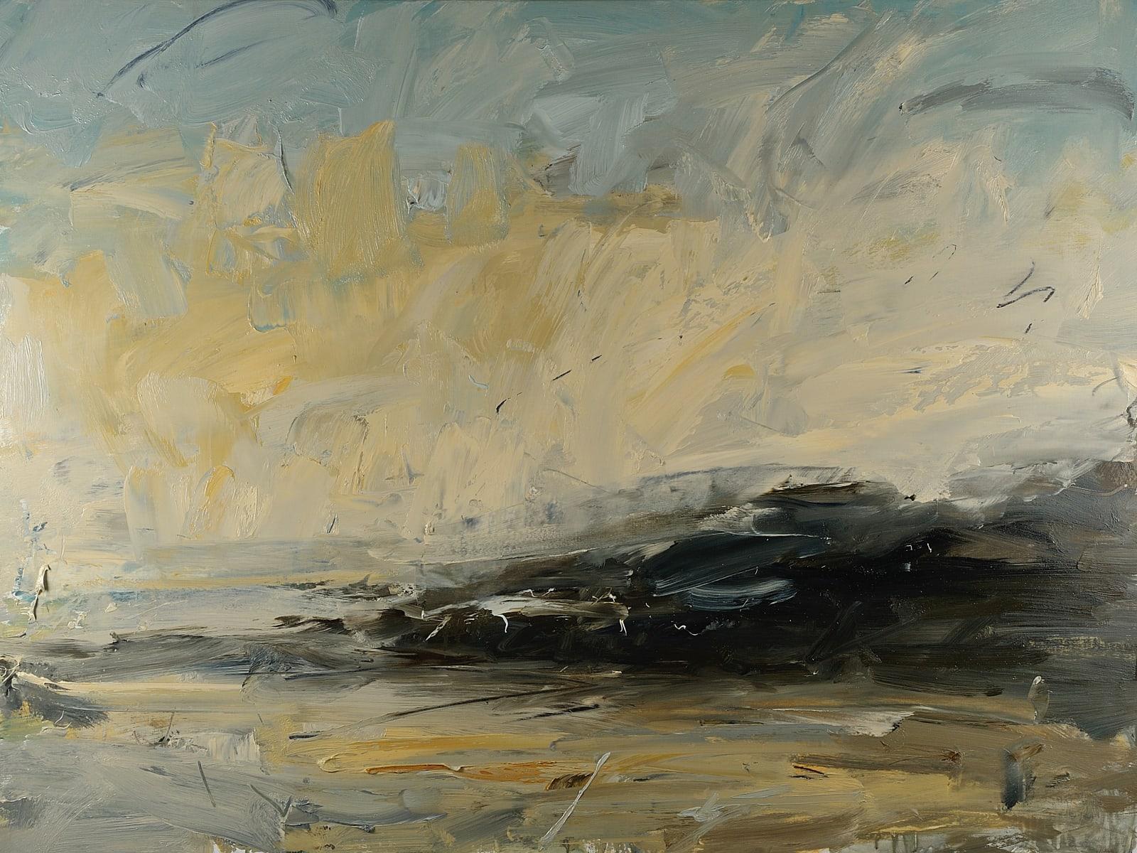 Naples Yellow Dazzle (St Ives) oil on canvas 90cm x 120cm