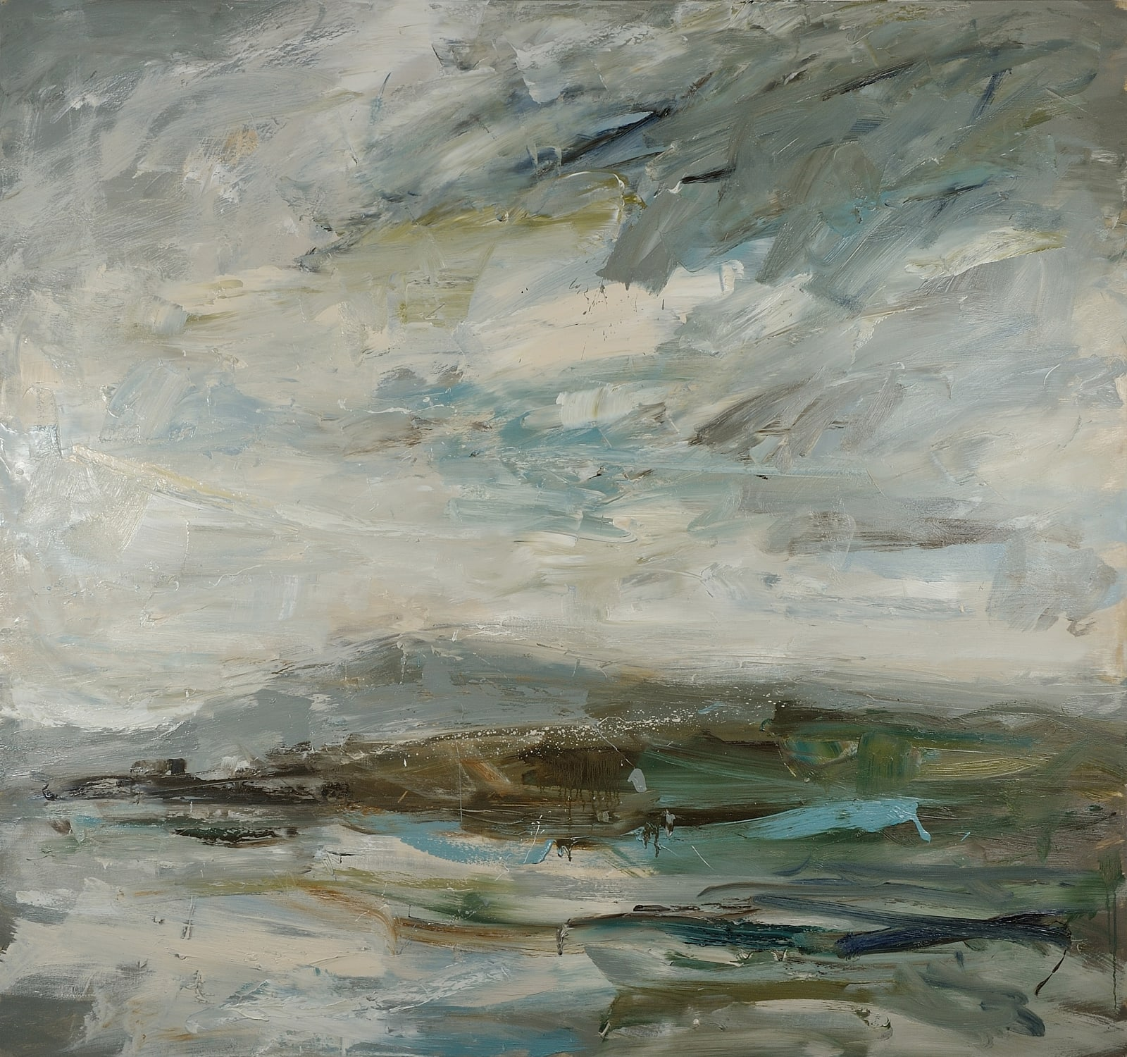 From Mull, Cloud Shadow oil on canvas 150cm x 160cm