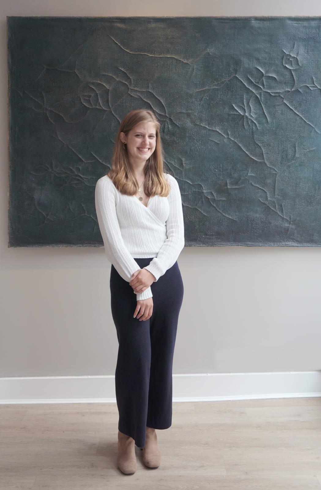 Emma Burley   Gallery Assistant