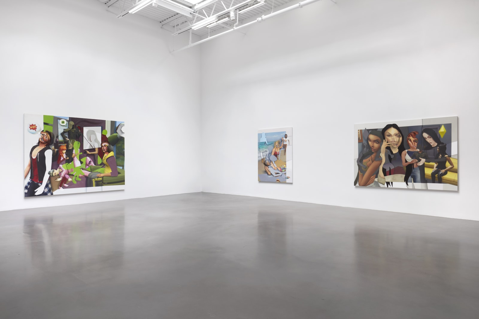 Pieter Schoolwerth, Shifted Sims, 2020 Petzel Gallery, New York