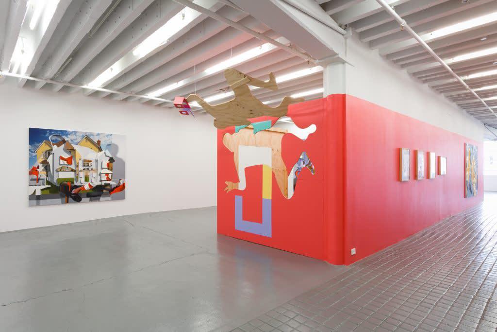 Pieter Schoolwerth, Model as Painting, 2017 Miguel Abreu, New York