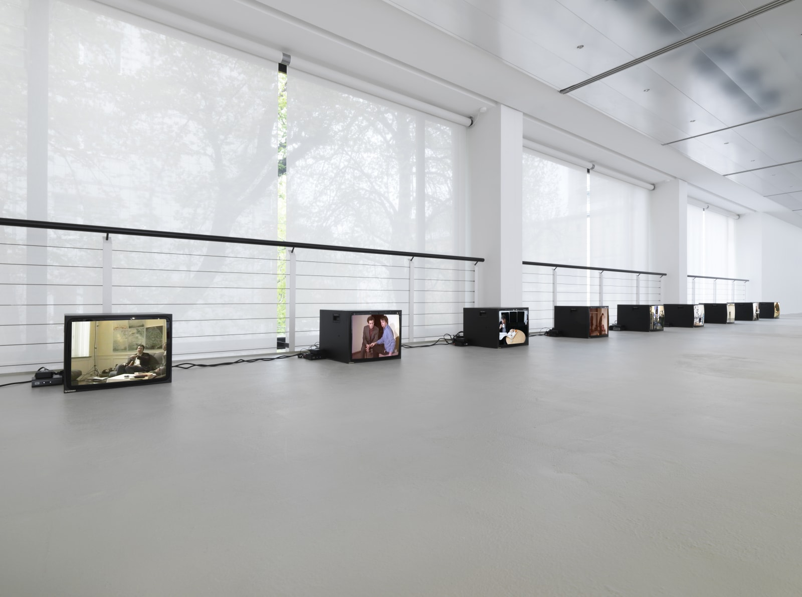 Installation view: Matt Mullican, Five Walls, Capitain Petzel, Berlin, 2021 Ph: Jens Ziehe