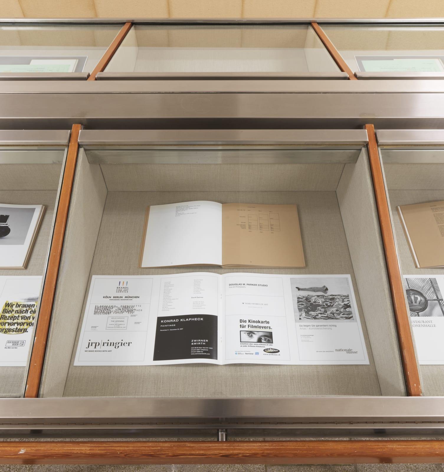 Installation view: Souterrain, Christopher Williams, Kochgeschirr (Adapted for Use), Capitain Petzel, Berlin, 2021 Ph: Jens Ziehe
