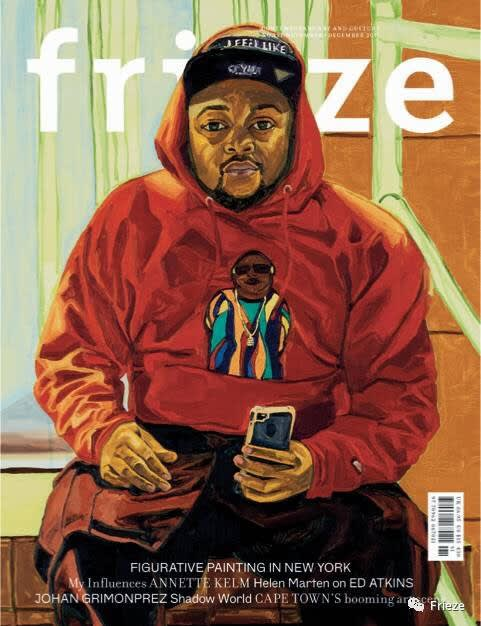 November/December issue of Frieze