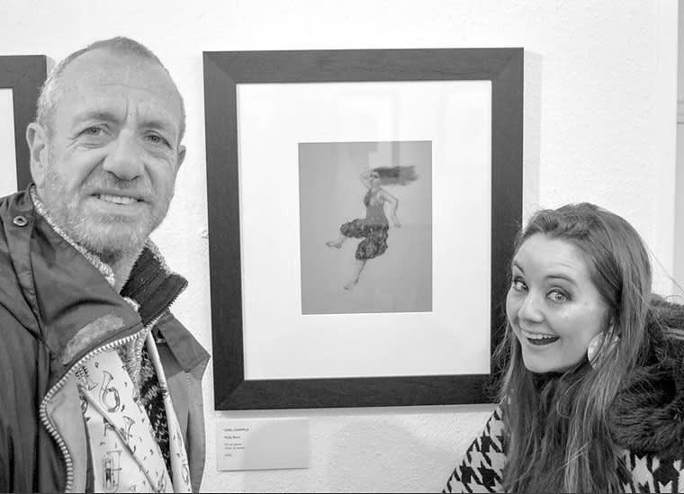 Arthur Smith and Holly Burn, 2016.
