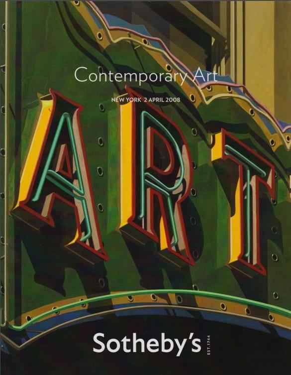 Sothebys Contemporary Auction NY