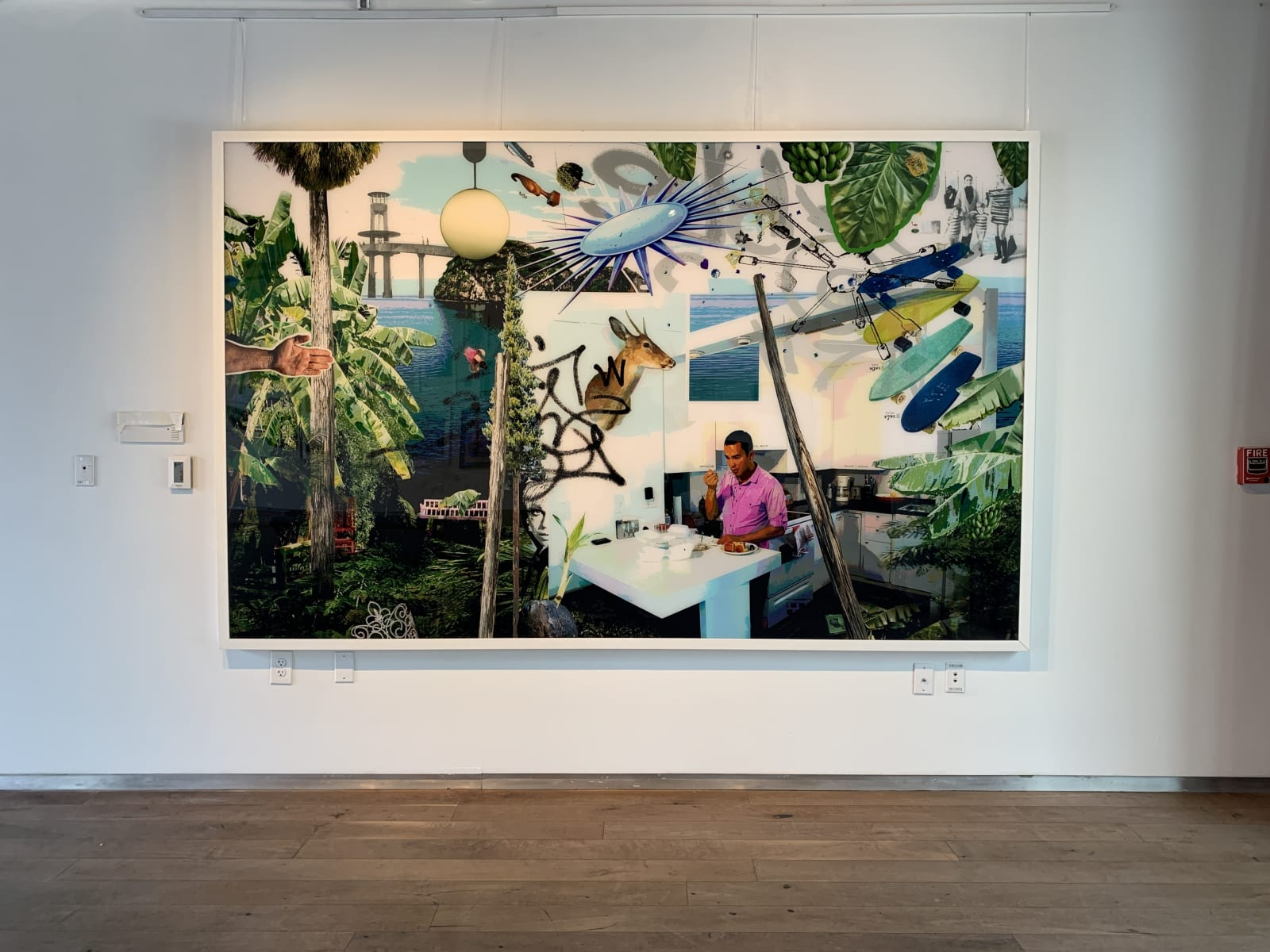 Intimate Spirit: collages and other artworks
