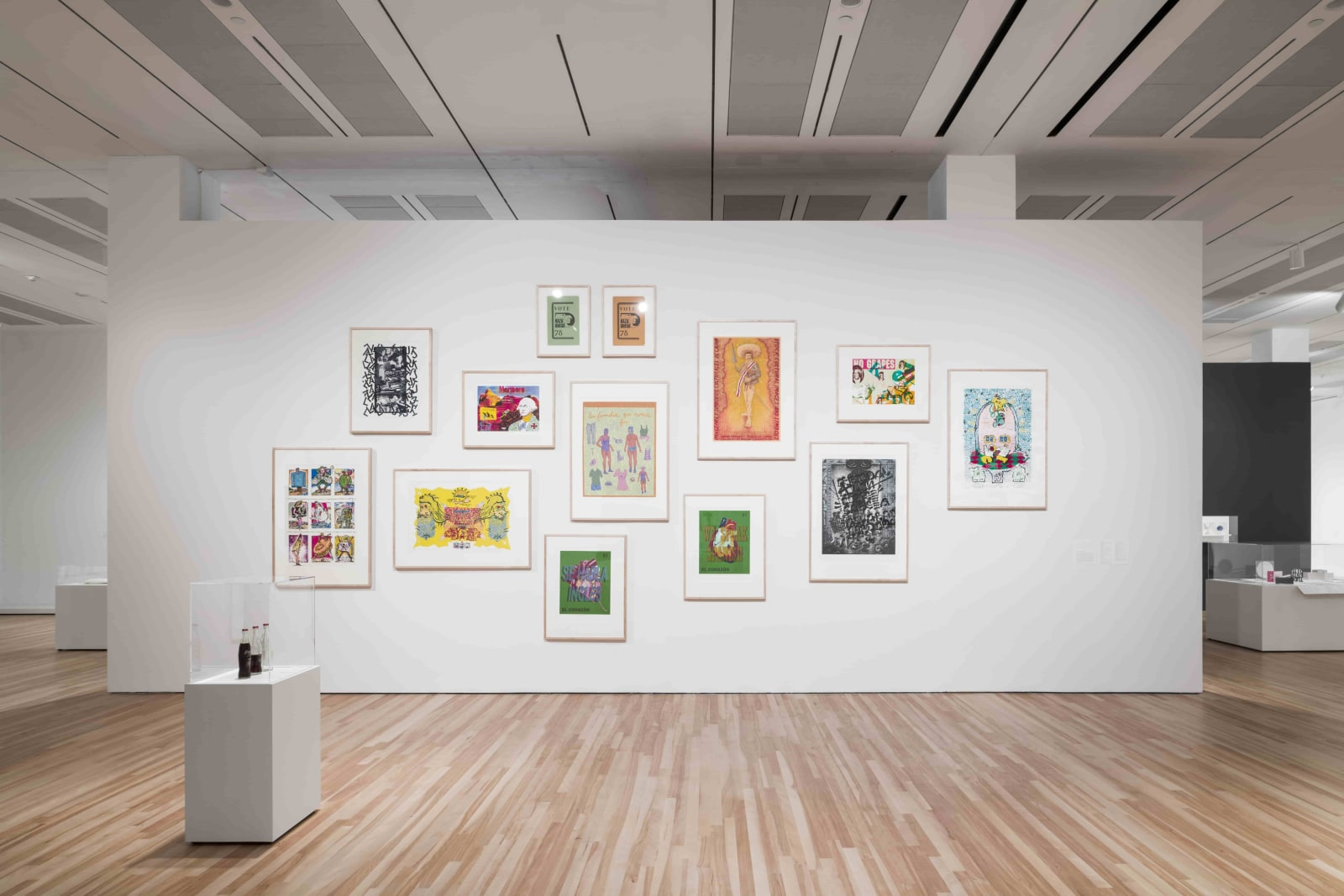 Installation View of Words/Matter: Latin American Art and Language at the Blanton at the Blanton Museum of Art, The University of Texas at Austin, 2019