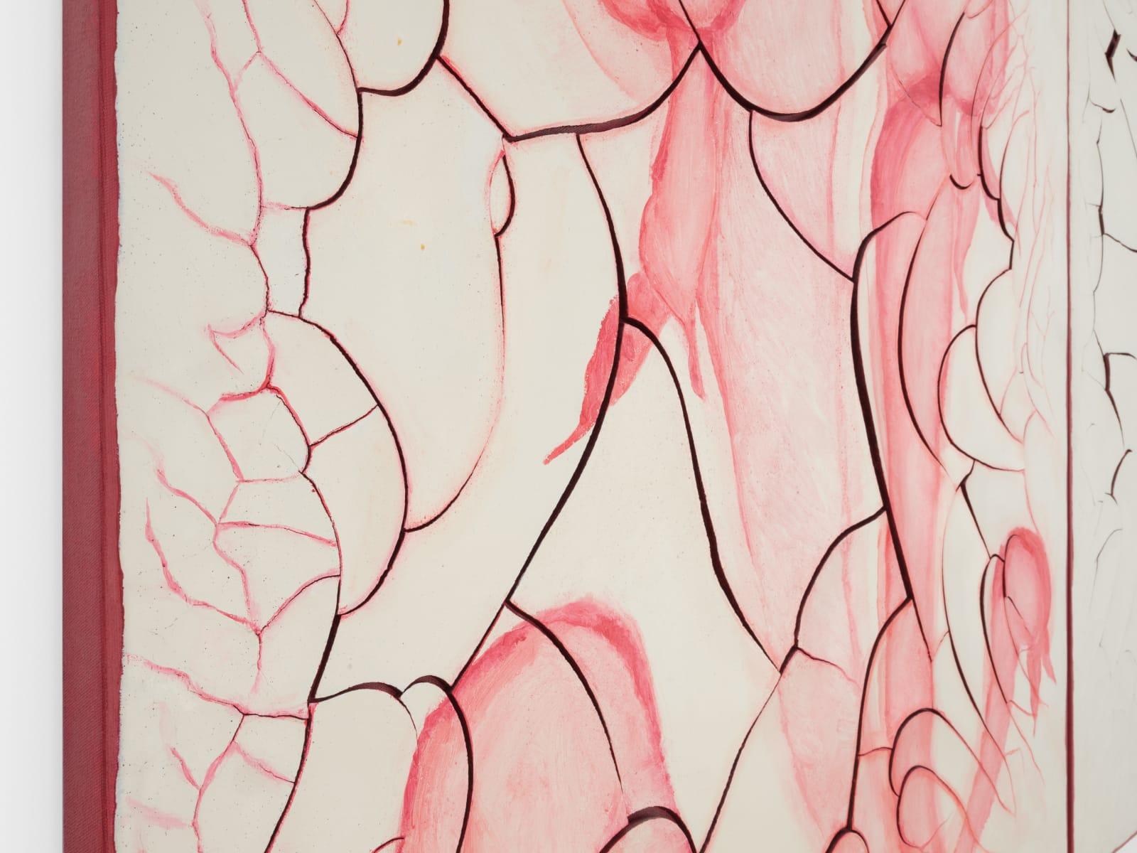 Detail of 'Adriana Varejão, Carnívoras Brancas [White carnivorous], 2012'