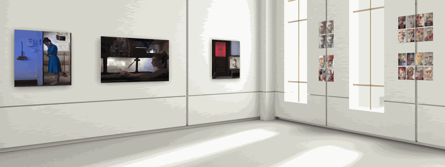 left to right: photographs by Susan Copich, watercolor drawings by James Singelis