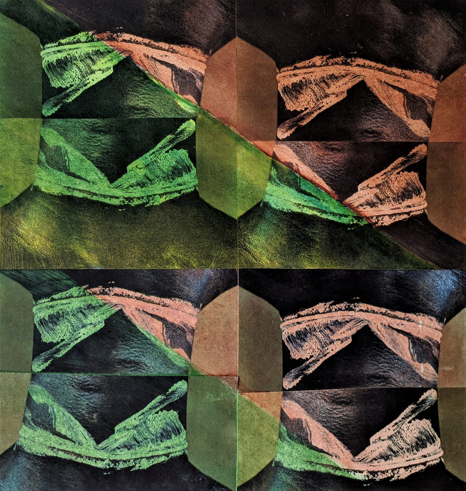 Neck 8 Brown Green © Kaethe Kauffman 2021 16