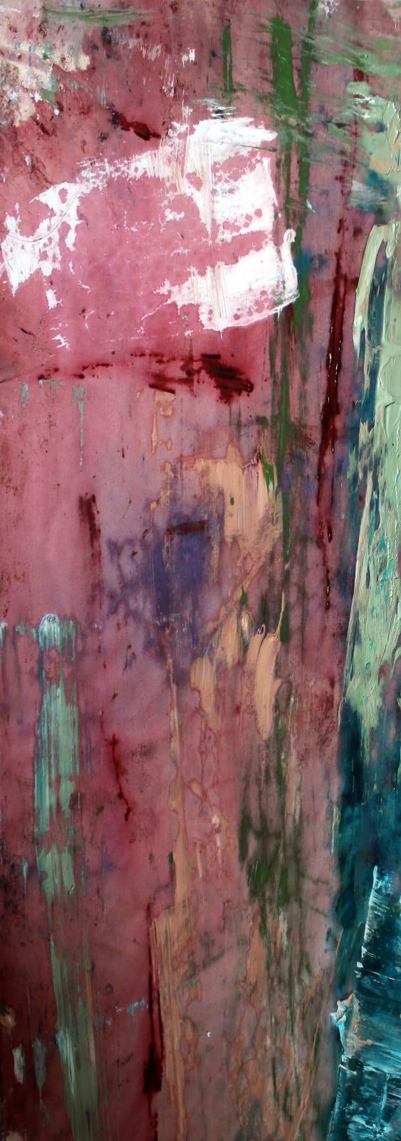 Secret Bay © Francine Tint 2017 26X58 Acrylic On Canvas