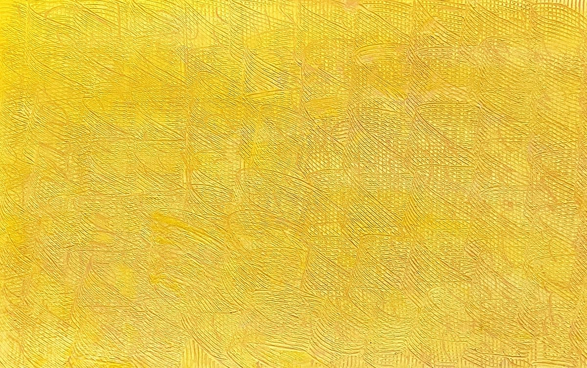 YELLOW WAVES © FRANCIE LYSHAK 2020 OIL ON LINEN 24 X 20 INCHES