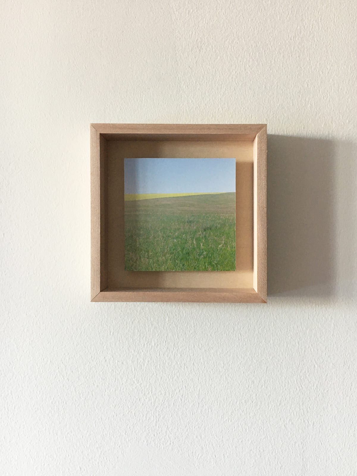 Grace Clark Sweet Fields V, 2020 digital pigment print 6 x 6 inches, edition 1/3 SOLD *edition 2/3 and 3/3 available