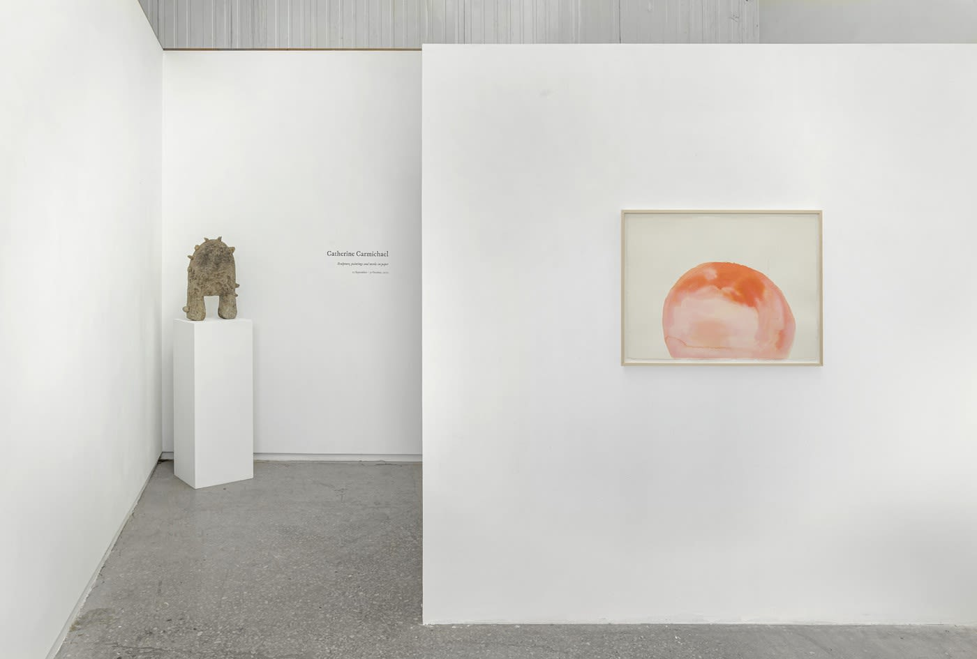 Paintings, sculpture and works on paper