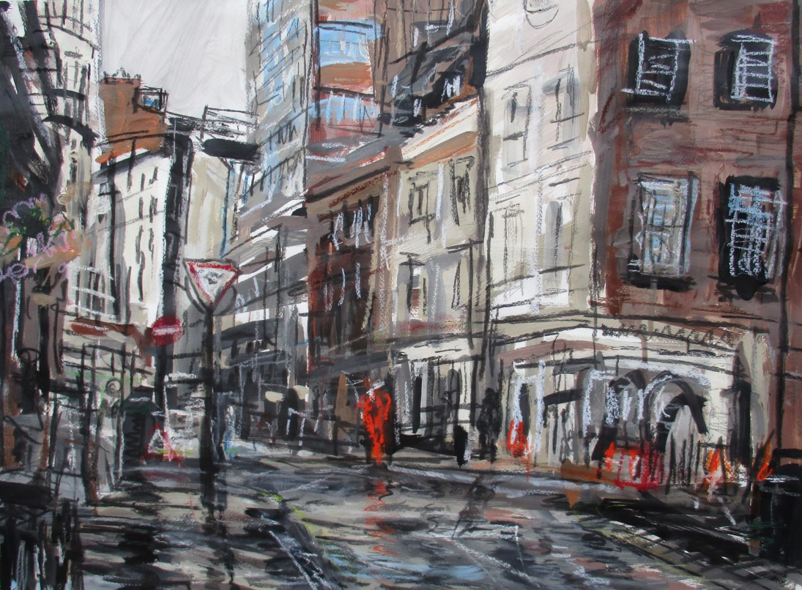 Matthew Thompson, Rain Marylebone Lane
