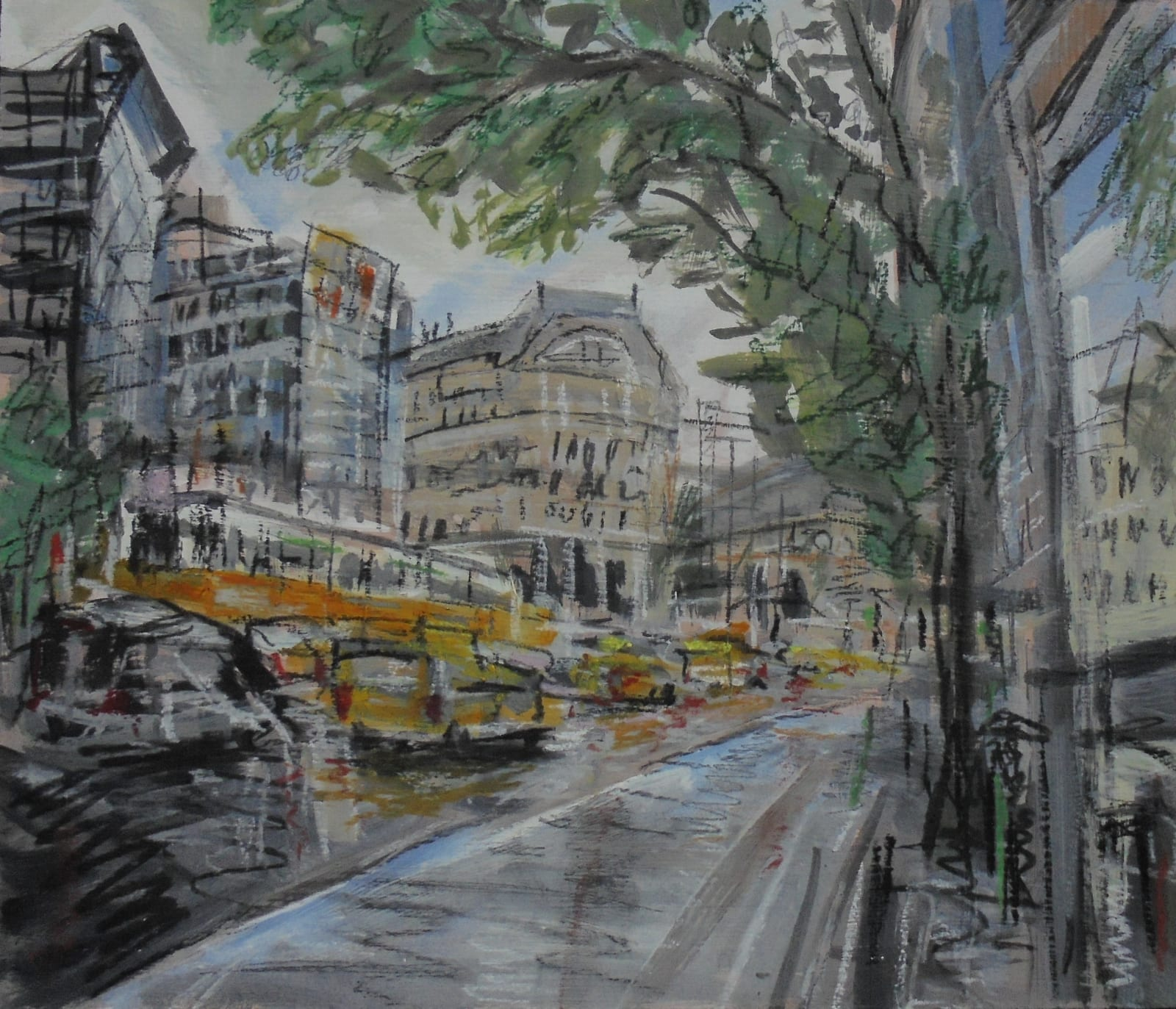 Matthew Thompson, Taxis and Trams, Budapest