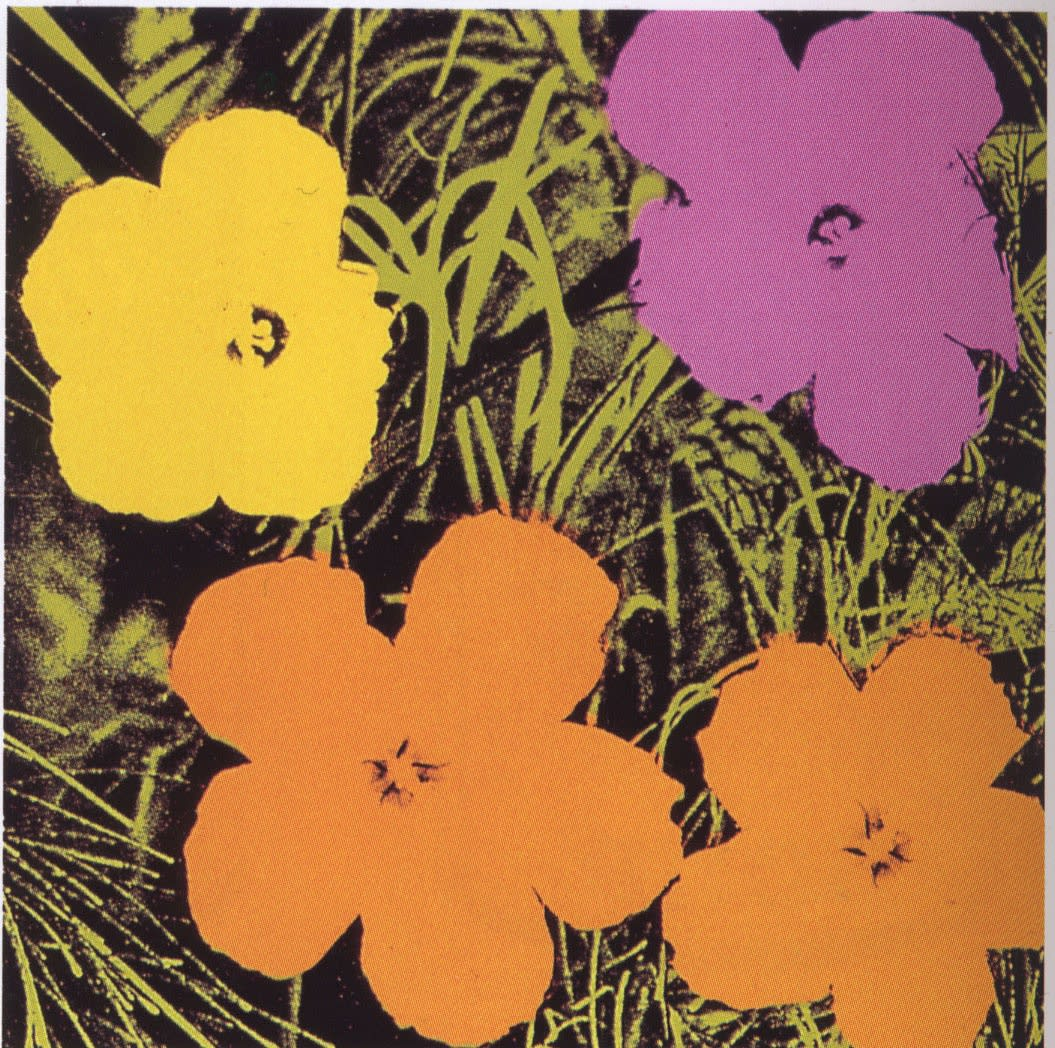 Andy Warhol, Flowers , 1970